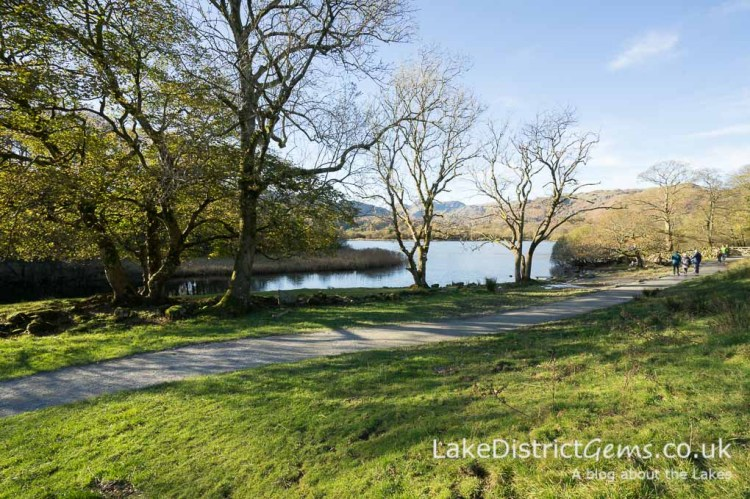 Elterwater with footpath