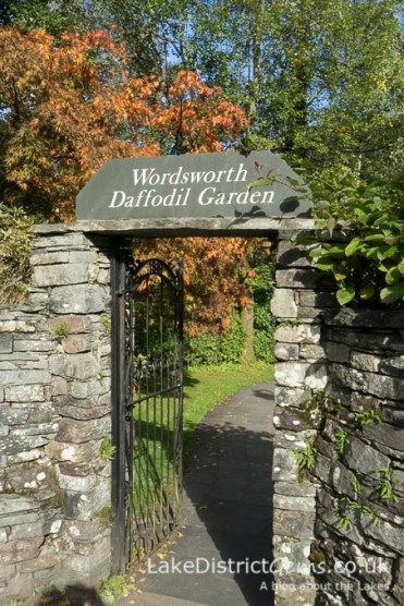 Entrance to the Wordsworth Daffodil Garden