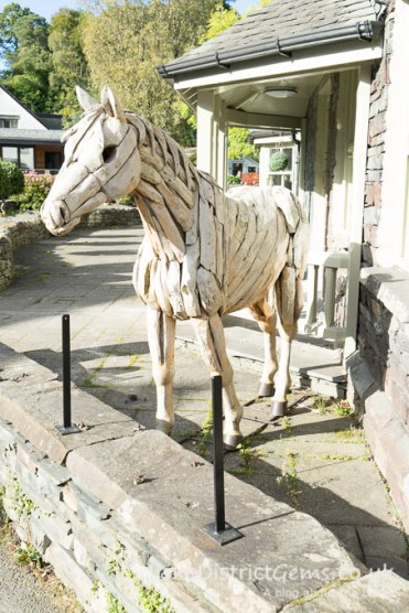 Horse figure in the middle of Grasmere