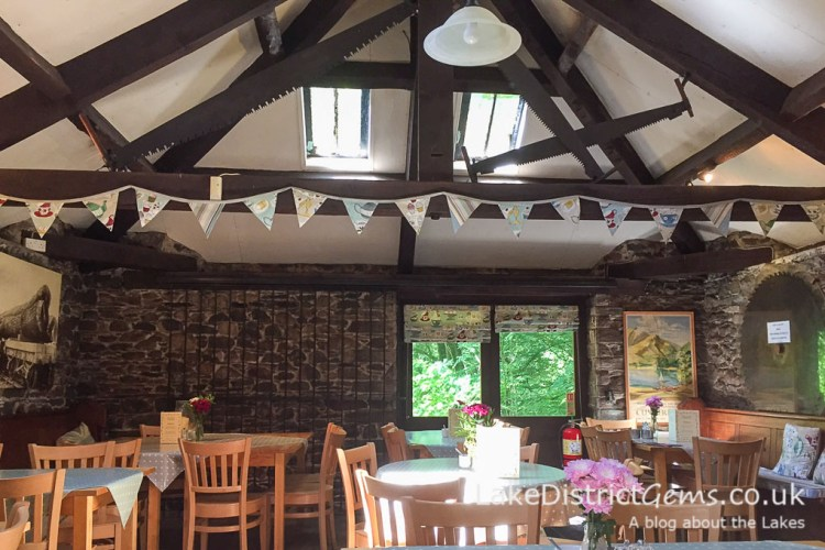 The Old Sawmill Tearoom at Dodd Wood