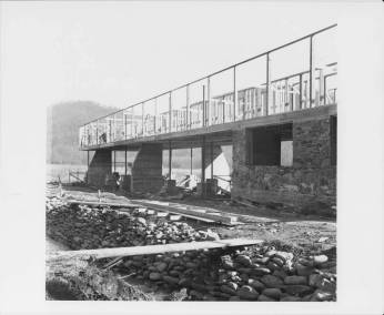 studies_building_construction_finished_foundation_and_pylons_black_mountain_college_19401941