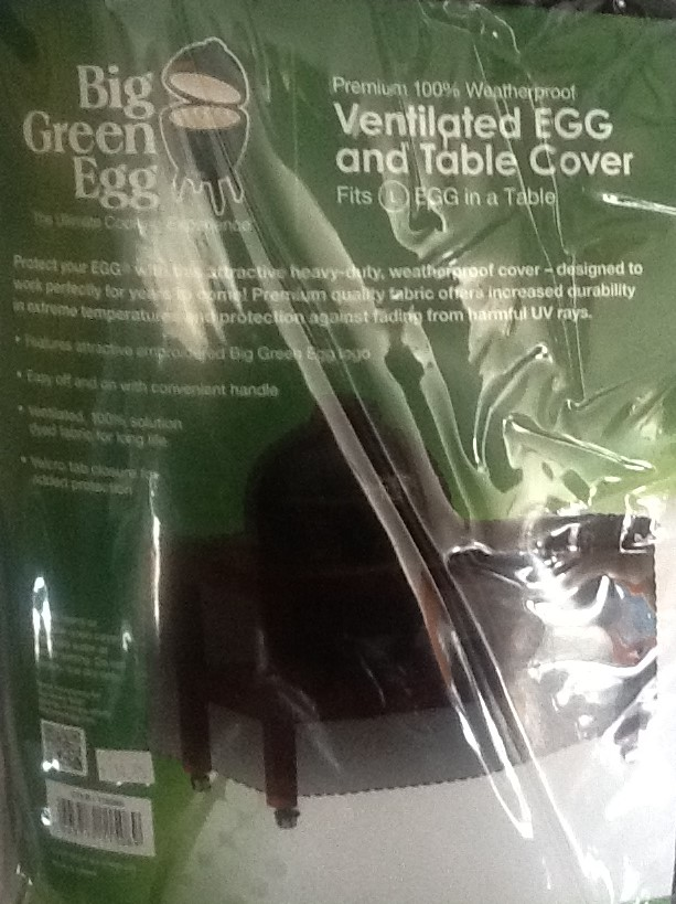 Big Green Egg 100% Weatherproof Ventilated Egg And Table Cover L