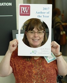 Ruth Percey, Lakefly Writers Conference organizer, small photo