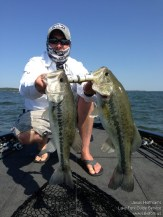 Lake Fork Picture | Big Bass Photo | Jim | Two on one cast
