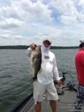 Lake Fork Picture | Big Bass Photo | Jason Hoffman | Santone Jig