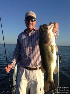 Lake Fork Picture | Big Bass Photo | Santone Jig