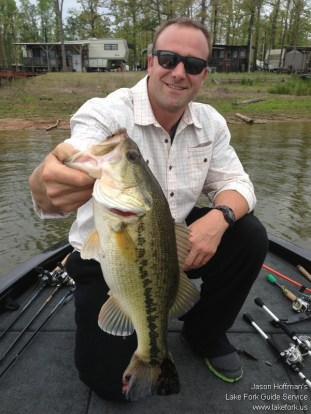 Lake Fork Picture | Big Bass Photo | Jay