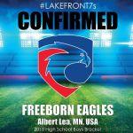 2018 Freeborn Eagles, Albert Lea, MN, USA