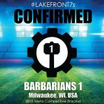 2018 Barbarians 1, Milwaukee, WI, USA