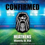 2018 Heathens, Waverly, IA, USA