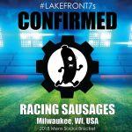 2018 Racing Sausages, Milwaukee, WI, USA
