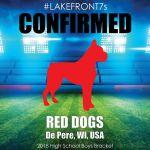 2018- Red Dogs, De Pere, WI, USA