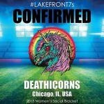 2018 Deathicorns, Chicago, IL, USA