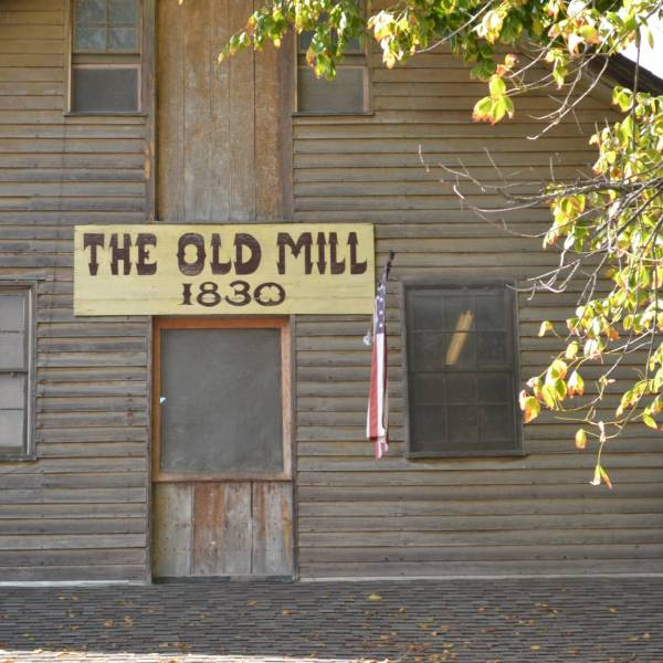 Don't miss the historic area at The Old Mill.