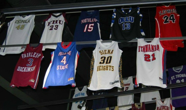 Basketball Jersey In Hall Of Fame