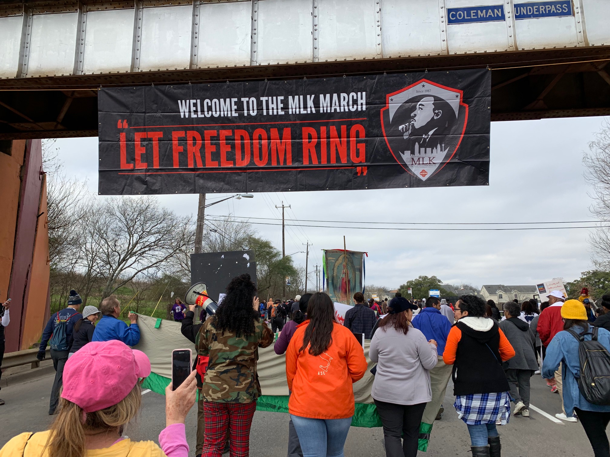 San Antonio Martin Luther King Jr March Largest In The Nation