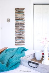 driftwood wall decor, painted driftwood, lake house wall decor, drift wood wall art