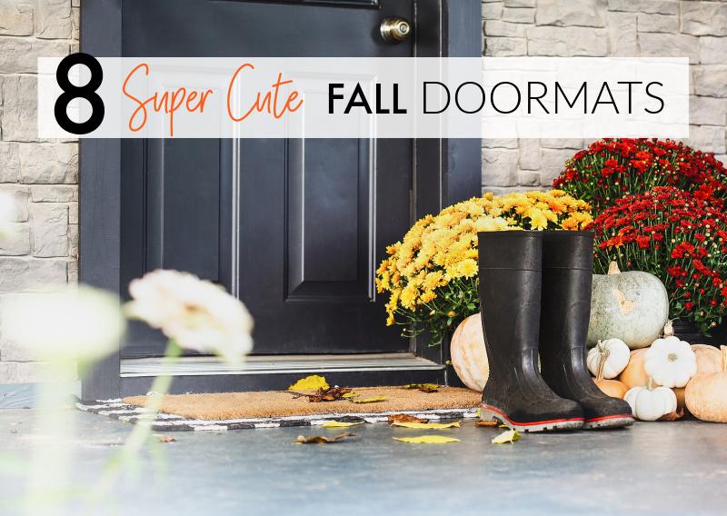 8 Best Fall Doormats