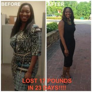 23 Day Result