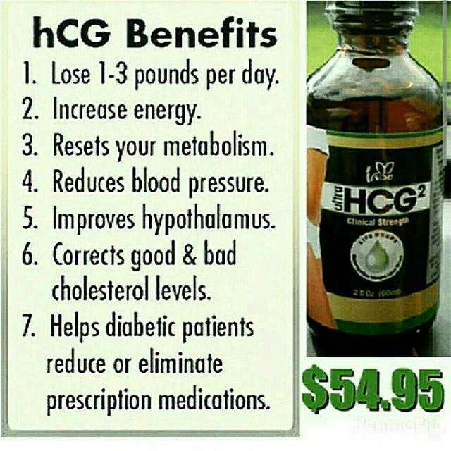 That the HCG Diet may help Diabetes