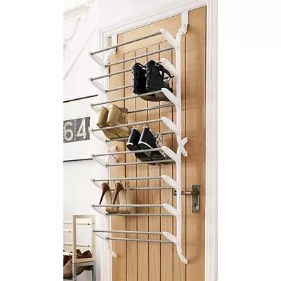 24 pair over door shoe storage rack