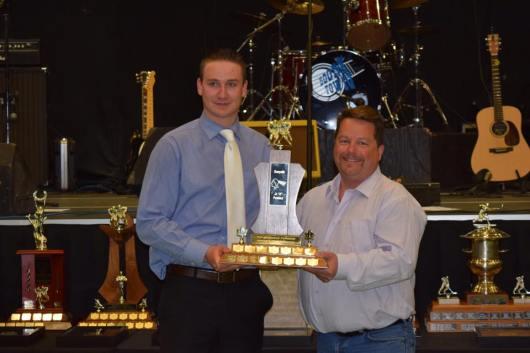 Top Defensive Forward Award for the second year in a row Steenn Pasichnuk Photo Credit: Bonnyville Pontiacs on Facebook
