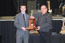 Presidents Award winner Alden Dupuis Photo Credit: Bonnyville Pontiacs on Facebook