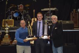 Most Valuable Player Award and Top Scorer Award winner Bobby McMann Photo Credit: Bonnyville Pontiacs on Facebook