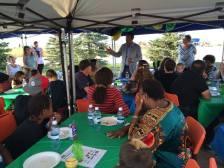 Mayor Craig Copeland (Cold Lake) addressing Biz Kid$