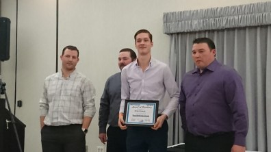 Top Defenceman - Brae Howat