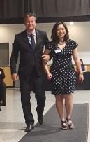 Patty Cowden & Mayor Copeland