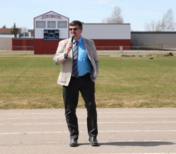 Bonnyville Mayor Gene Sobolewski