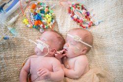 Jack & Elliott together in Hospital. Photo Credit: Carrie Jane Photography