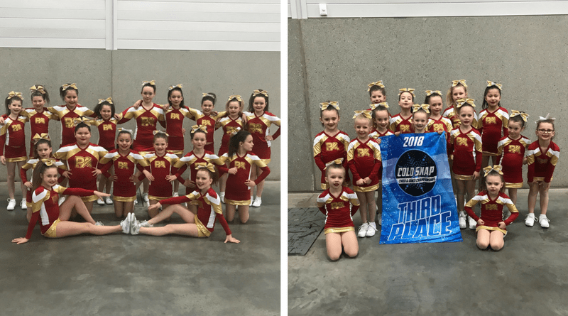 Bonnyville's Premiere Cheerleading bring Heat to Cold Snap