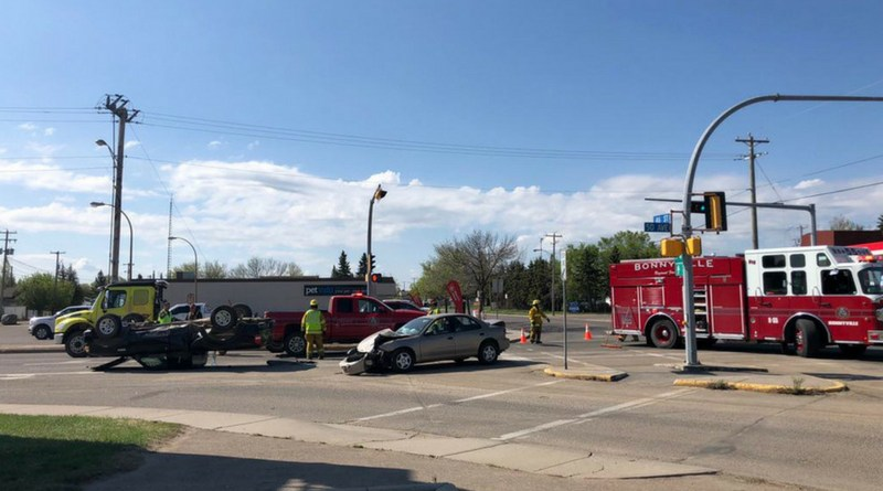 Charges laid on Collision on 50th Ave and 46th St. in Bonnyville