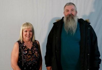 Louisette Gardner and Travis Adrian