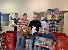 Bonnyville Dodge presents their collected toys