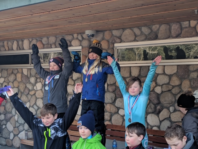 Dylan Dechaine at Snow Valley