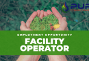 EMPLOYMENT OPPORTUNITY: Facility Operator – Pure Environmental