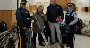 Cold Lake RCMP lends a hand to Elizabeth