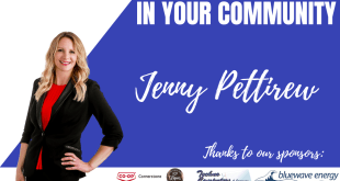 Jenny is Live in Your Community