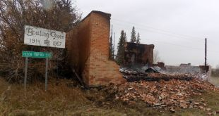 Vermilion RCMP arrest male for arson of historic building