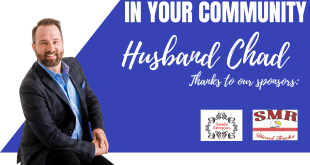Husband Chad is LIVE in Your Community!