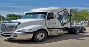 Stolen semi returned to Portage College