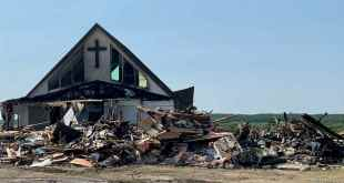 Youth charged with arson in church fire