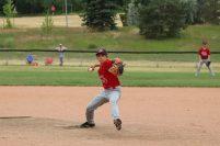 Josh Bourbeau pitching