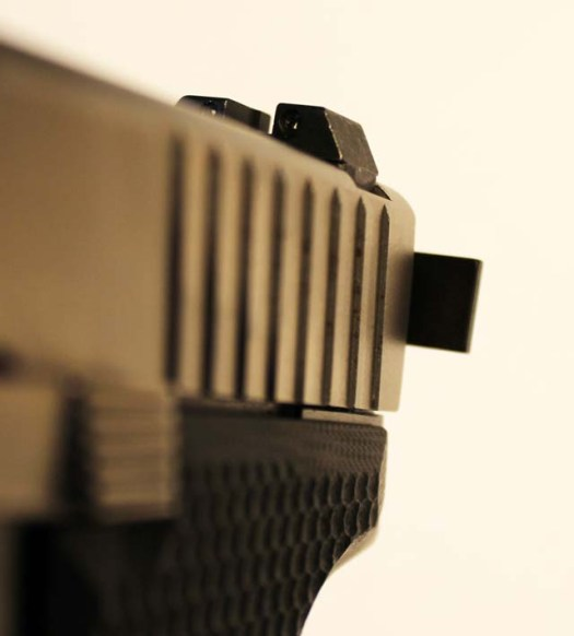 Installed Charging Handle from Left Front Resized