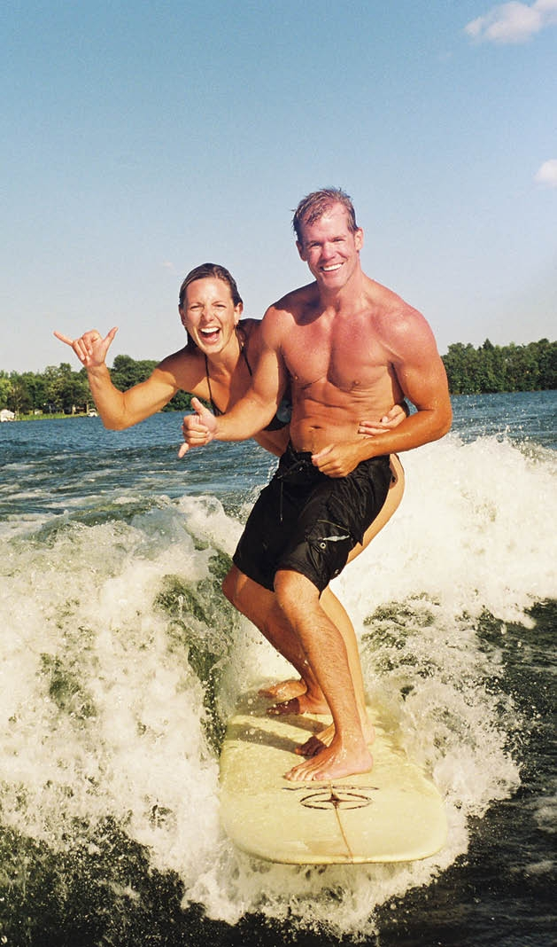 The Couple Who Surfs Together Stays Together Lake