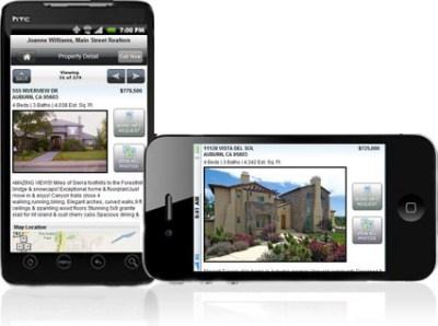 Mobile Real Estate Website