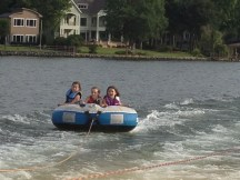 Tubing with Friends!